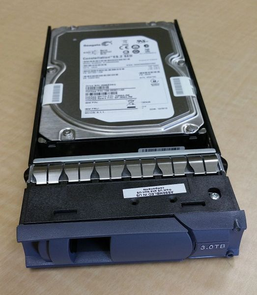 X309A-R6 NetApp 3TB 7.2K RPM SAS 6Gb/s Hard Drive SED for DS4246 FAS2240-4
