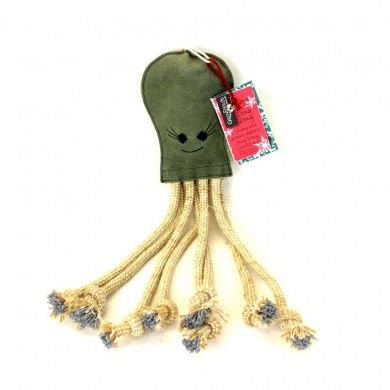 Olive the Octopus Eco Dog Toy