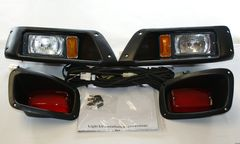 Ezgo Golf Cart 96-up Light Kit Ultimate Headlights Taillights
