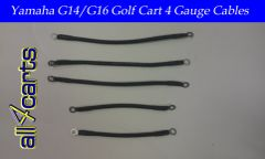Yamaha G14/G16 36 Volt Battery Cable Set | 4 Gauge Upgrade