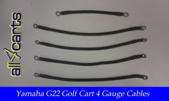Yamaha G22 48 Volt Battery Cable Set - 4 Gauge