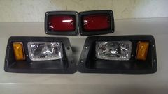 Yamaha G16/g19/G22 Golf Cart Light Kit Headlights Taillights