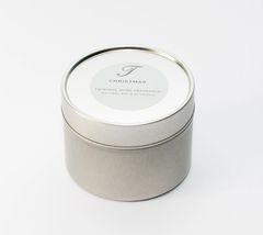 Limited Edition Christmas Candle Tin