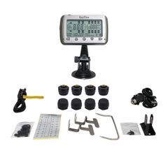 TIRE PRESSURE AND TEMPERATURE MONITORING SYSTEMS (TPMS-8 Anti-Theft)