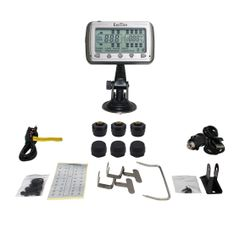 TIRE PRESSURE AND TEMPERATURE MONITORING SYSTEMS (TPMS-6 Anti-Theft)
