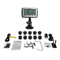 TIRE PRESSURE AND TEMPERATURE MONITORING SYSTEMS (TPMS-10 Anti-Theft)