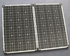 PORTABLE RV SOLAR BATTERY CHARGER (130 W)