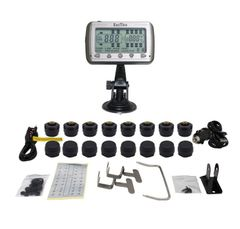 TIRE PRESSURE AND TEMPERATURE MONITORING SYSTEMS (TPMS-16 Anti-Theft)