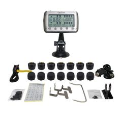 TIRE PRESSURE AND TEMPERATURE MONITORING SYSTEMS (TPMS-14 Anti-Theft)