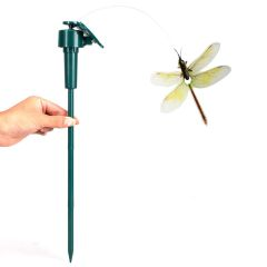 Solar Powered Dancing Flying Dragonfly Garden Decoration