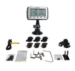 TIRE PRESSURE AND TEMPERATURE MONITORING SYSTEMS (TPMS - 6 Flow Through)