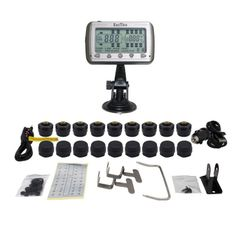 TIRE PRESSURE AND TEMPERATURE MONITORING SYSTEMS (TPMS-18 Anti-Theft)