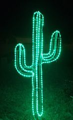 7 FOOT DELUXE LIGHTED LED CACTUS