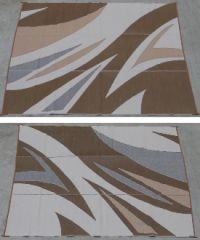 REVERSIBLE RV/PATIO MAT W/UV STABILIZER PROTECTION (WAVE DESIGN)