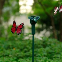 Solar Powered Dancing Flying Butterfly Garden Decoration
