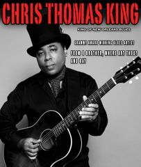 June 7, Fri. - Chris Thomas King - Oahu The Club at Anna O'Brien's - Adv.