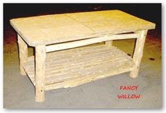 High Pointe Country Home Décor: Cheyenne Farmhouse Coffee Table - Handcrafted Pool and Patio Furniture