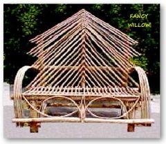 Auberge Country Home Décor: Ponderosa Cabin Loveseat - Handcrafted Pool and Patio Furniture