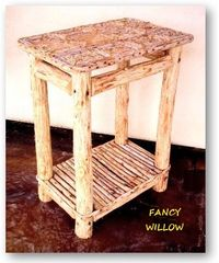 High Pointe Country Home Décor: Catalina Island, Tahoe Lodge Patio Table - Handcrafted Pool and Patio Furniture