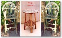 Pebble Beach Country Home Décor: Catalina Island, Tahoma Bistro Dining, 3 Pieces - Handcrafted Pool and Patio Furniture