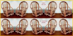 All American Special: 10 Frontier Patio Chairs - Handcrafted Pool and Patio Furniture