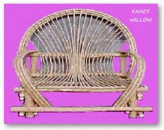 Auberge Country Home Décor: Reno Lodge Loveseat - Handcrafted Pool and Patio Furniture