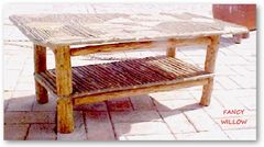 High Pointe Country Home Décor: Alta Lodge Coffee Table - Handcrafted Pool and Patio Furniture