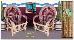 Pebble Beach Home Décor: Tubac Backyard Set, 3 Pieces Set - Handcrafted Pool and Patio Furniture