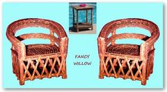 Pebble Beach Home Décor: Ranchero Lodge Set. 3 Pieces - Handcrafted Pool and Patio Furniture