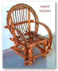 Christmas Special: Twig Furniture Sale - 10 Frontier Outdoor Chairs - Handcrafted Pool and Patio Furniture