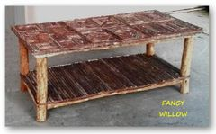 High Pointe Country Home Décor: Tahoe Great Room Coffee Table - Handcrafted Pool and Patio Furniture