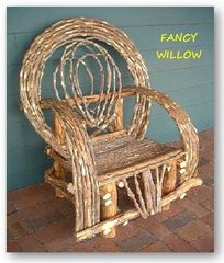 Jackson Hole Country Home Décor: BellaFlor Great Room Chair - Handcrafted Pool and Patio Furniture