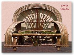 Auberge Country Home Décor: Sedona Lodge Loveseat - Handcrafted Pool and Patio Furniture
