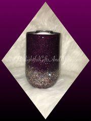 Stainless Steel Glitter Wine Tumbler