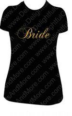 BRIDE SPARKLY TEE