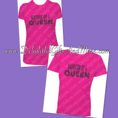 MOTHER OF A QUEEN AND DAUGHTER OF A QUEEN SHIRT SET