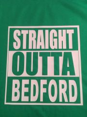 STRAIGHT OUTTA BEDFORD TEE