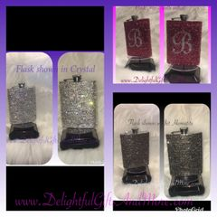 Rhinestone Bling Flask