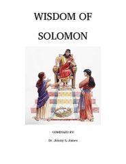 Wisdom of Solomon in English By Dr. Jimmy James