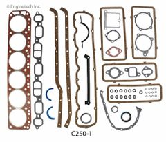 Full Gasket Set (EngineTech C250-1) 68-89