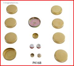 Frost Plug Set - Brass (EngineTech PK16B) 59-81