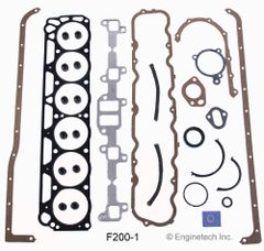 Full Gasket Set (EngineTech F200-1) 60-83