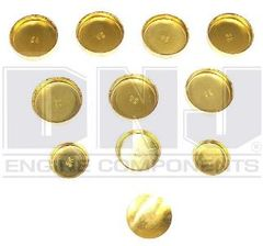 Frost Plug Set - Brass (DNJ FPS942) 83-92