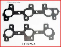 Exhaust Manifold Gasket Set (EngineTech ECR226-A) 02-12
