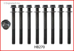 Head Bolt Set - For 1 Head (EngineTech HB270) 99-08