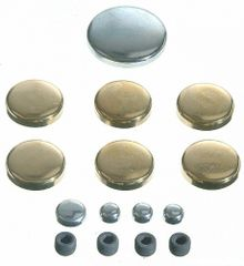 Frost Plug Set - Brass (EngineTech PK9B) 62-00