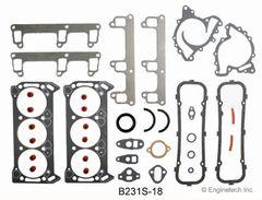 Full Gasket Set - RWD (EngineTech B231S-18) 79-87