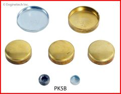 Frost Plug Kit - Brass (EngineTech PK5B) 62-89