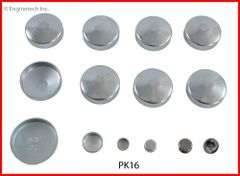 Frost Plug Set - Steel (EngineTech PK16) 59-81