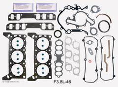 Full Gasket Set (EngineTech F3.8L-46) 94-95 RWD
